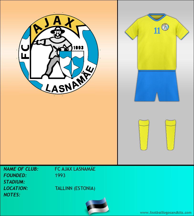 Logo of FC AJAX LASNAMÄE