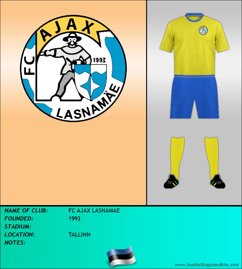 Logo of FC AJAX LASNAMAE