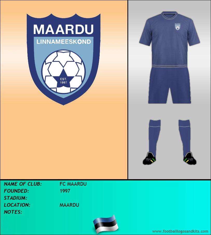 Logo of FC MAARDU