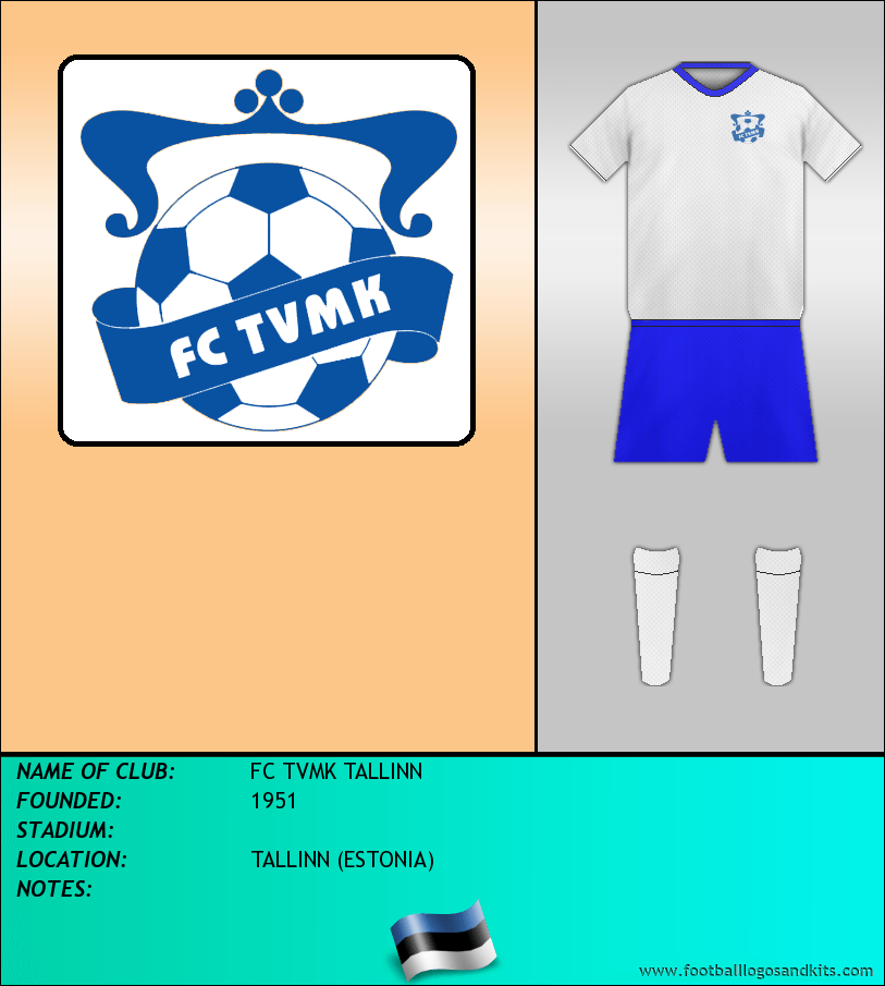 Logo of FC TVMK TALLINN