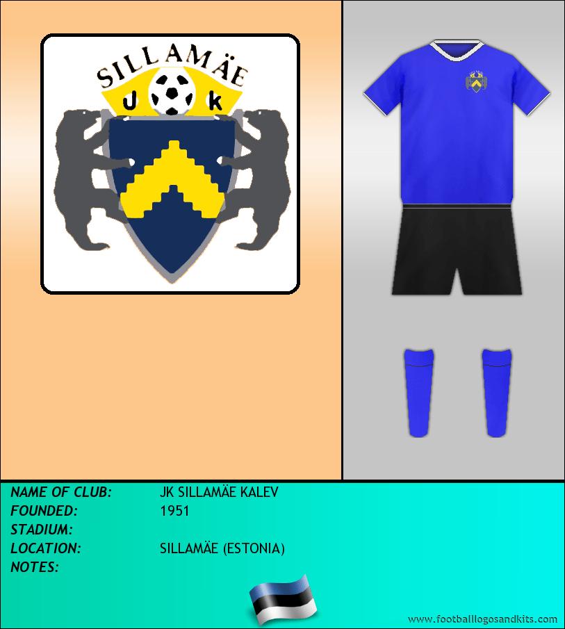 Logo of JK SILLAMÄE KALEV
