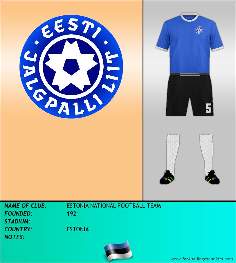 Logo of ESTONIA NATIONAL FOOTBALL TEAM