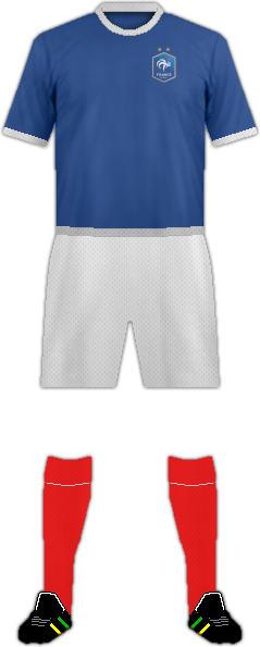 Kit FRANCE NATIONAL FOOTBALL TEAM