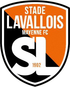 Logo of STADE LAVALLOIS MAYENNE FC (FRANCE)