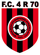 Logo of FC 4 RIVIERES 70