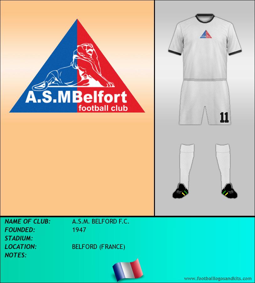 Logo of A.S.M. BELFORD F.C.