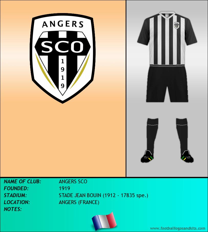 Logo of ANGERS SCO