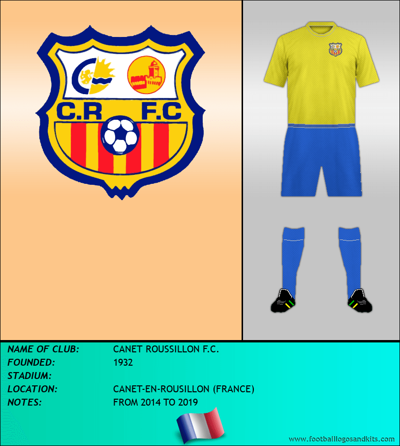 Logo of CANET ROUSSILLON F.C.