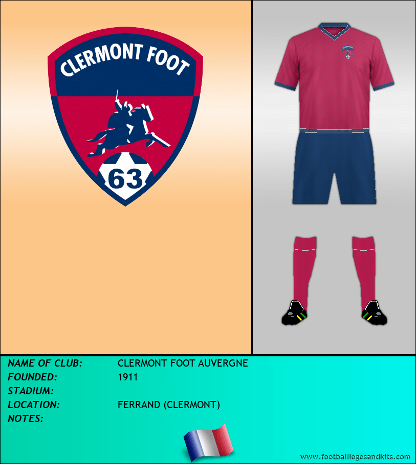 Logo of CLERMONT FOOT AUVERGNE