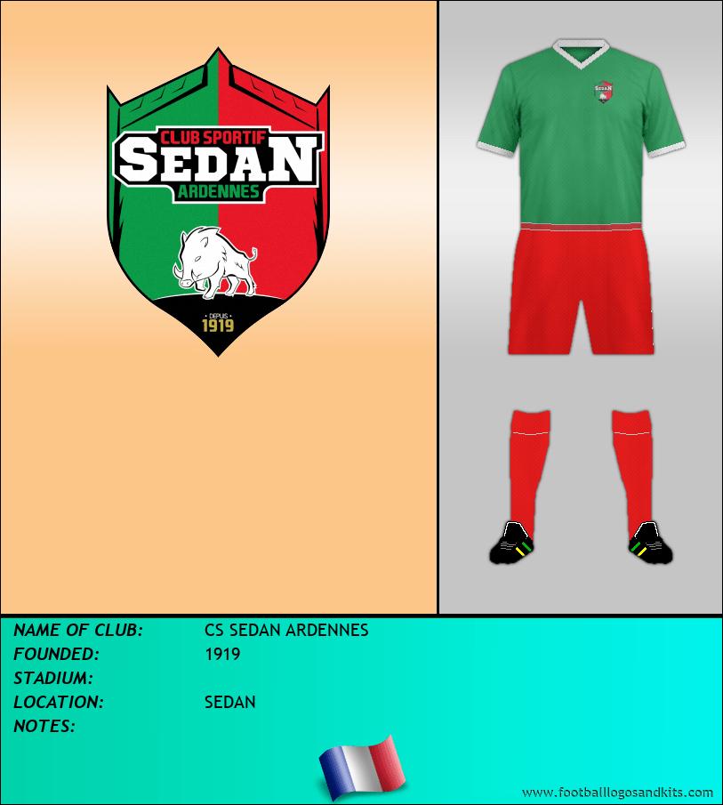 Logo of CS SEDAN ARDENNES
