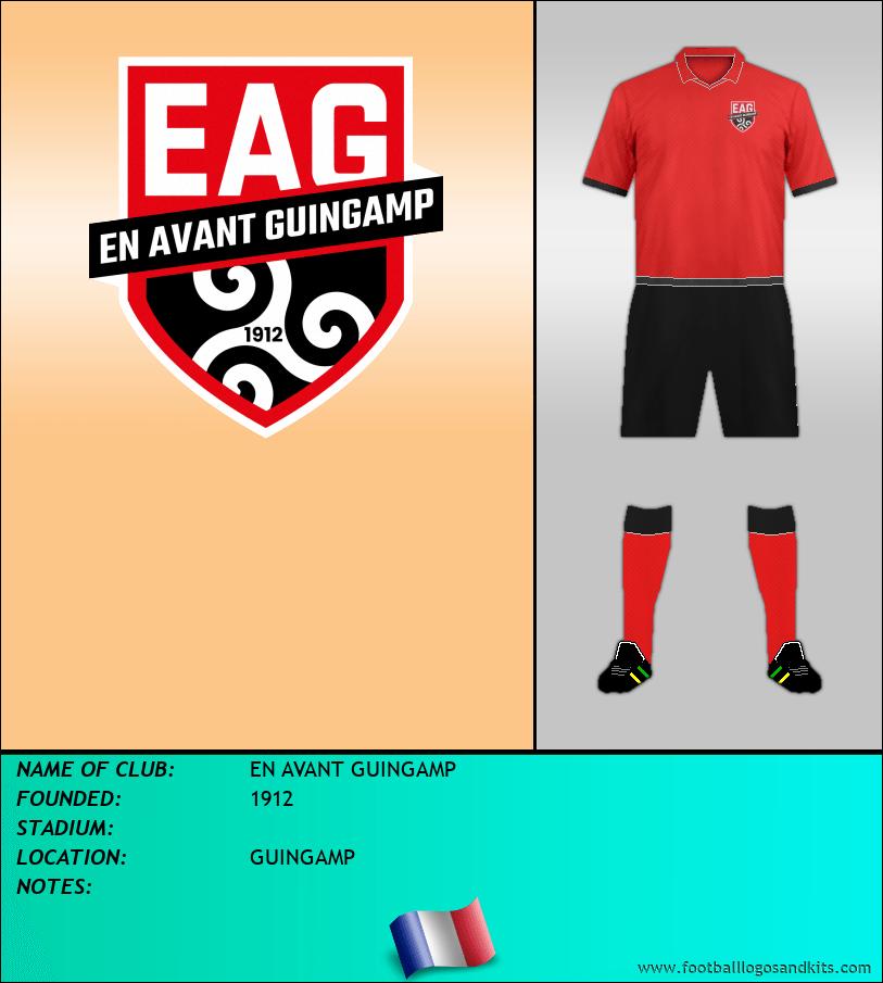 Logo of EN AVANT GUINGAMP