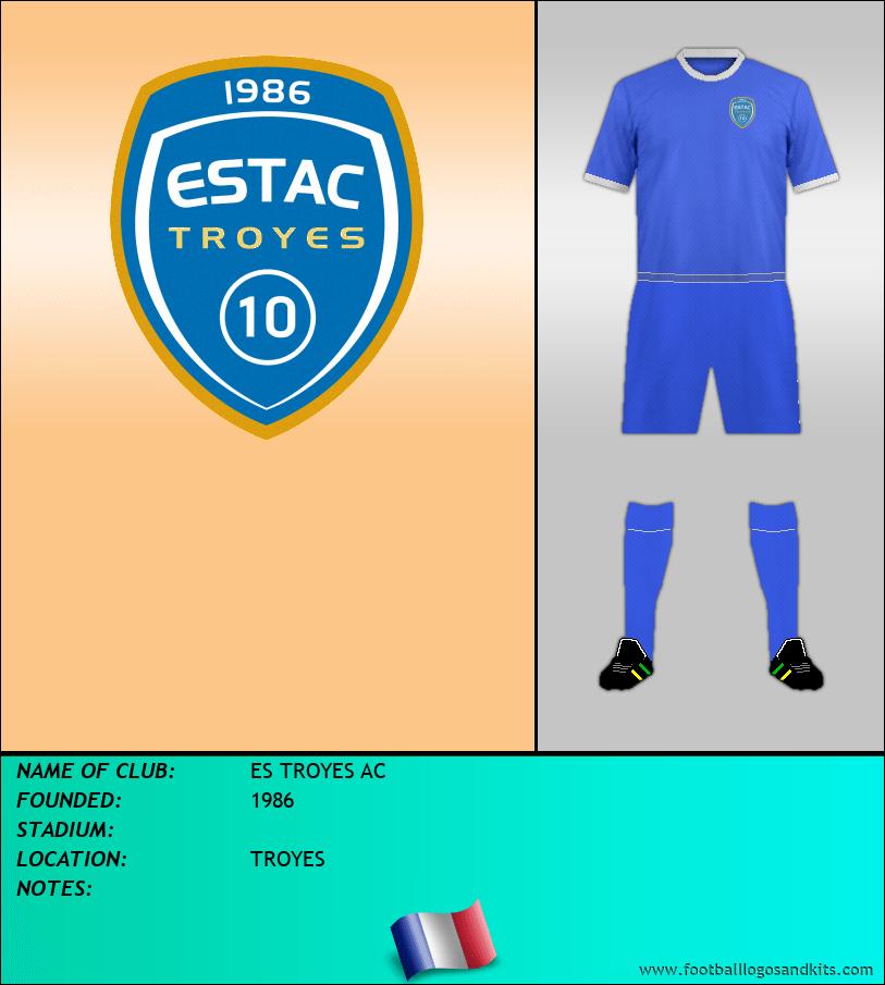 Logo of ES TROYES AC