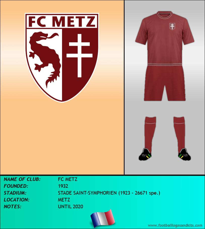Logo of FC METZ