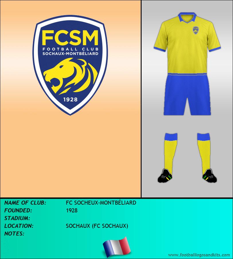 Logo of FC SOCHEUX-MONTBÉLIARD