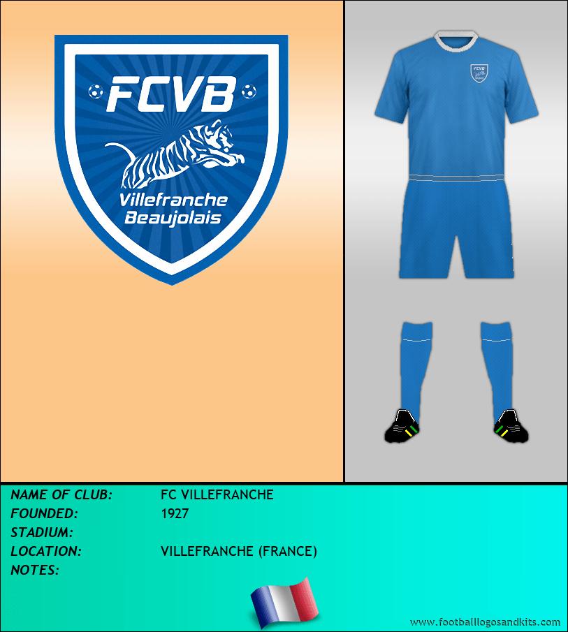 Logo of FC VILLEFRANCHE