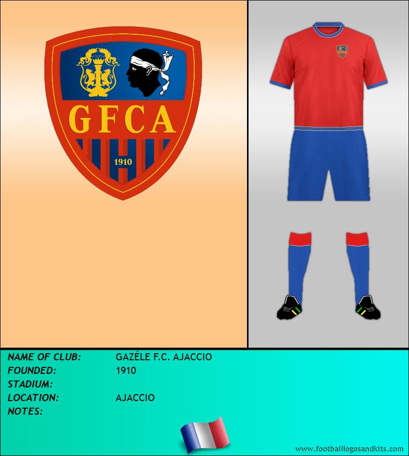 Logo of GAZÉLE F.C. AJACCIO