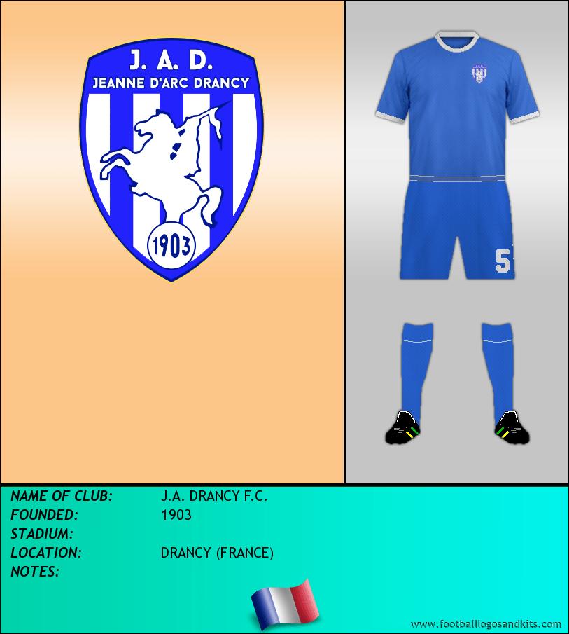 Logo of J.A. DRANCY F.C.