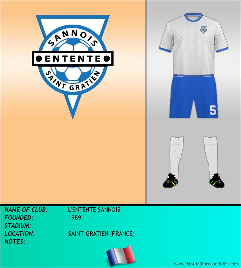 Logo of L'ENTENTE SANNOIS