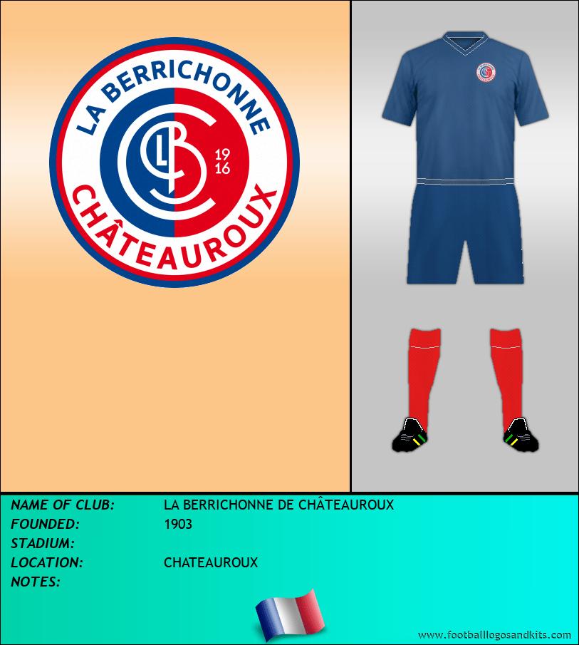 Logo of LA BERRICHONNE DE CHÂTEAUROUX