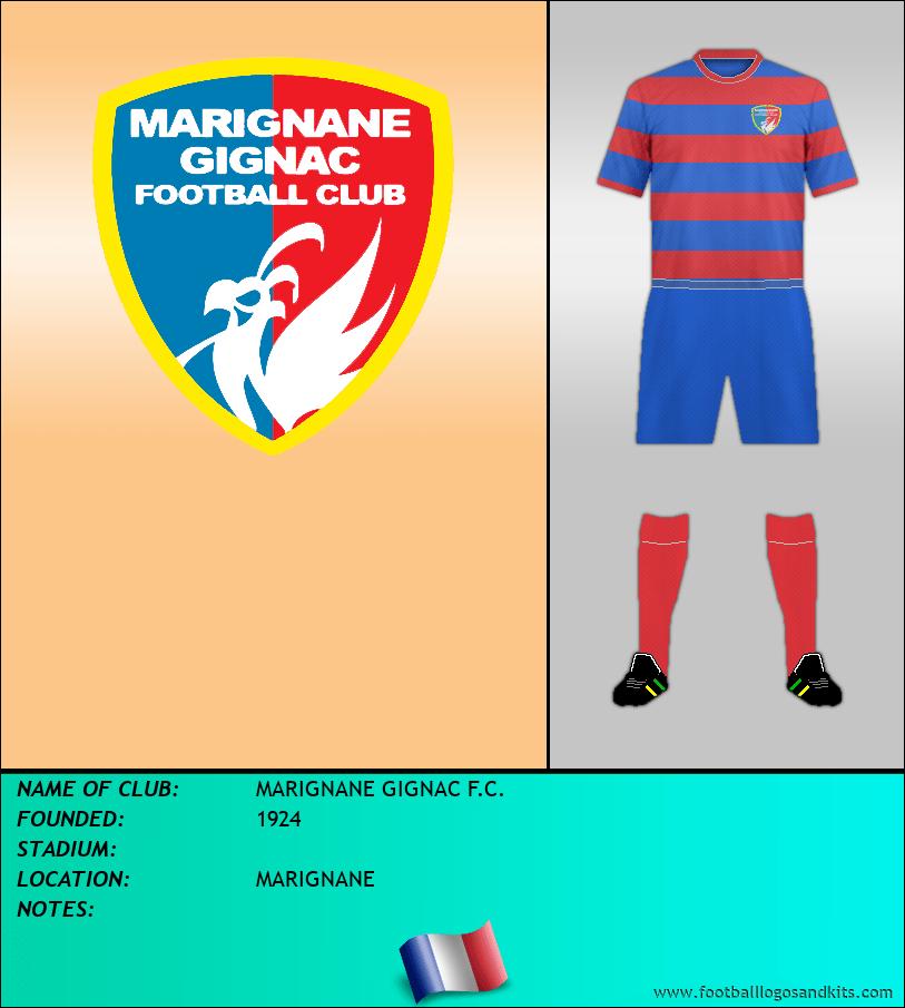 Logo of MARIGNANE GIGNAC F.C.