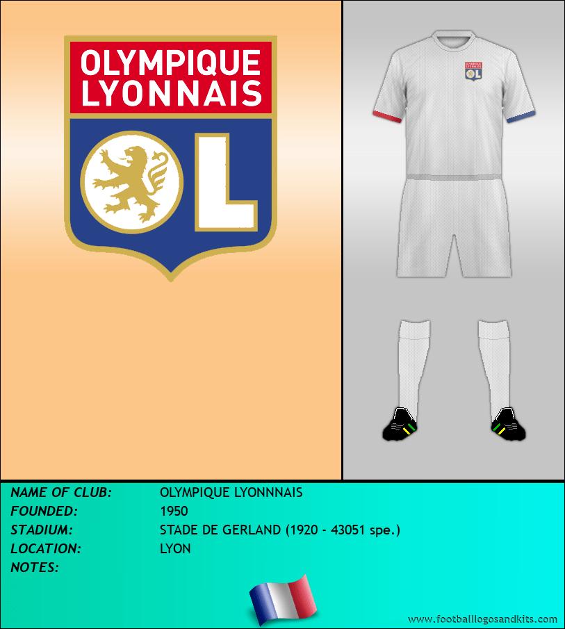Logo of OLYMPIQUE LYONNNAIS