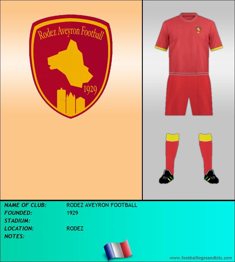 Logo of RODEZ AVEYRON FOOTBALL
