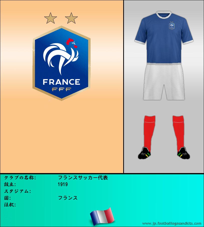のロゴフランス サッカー代表