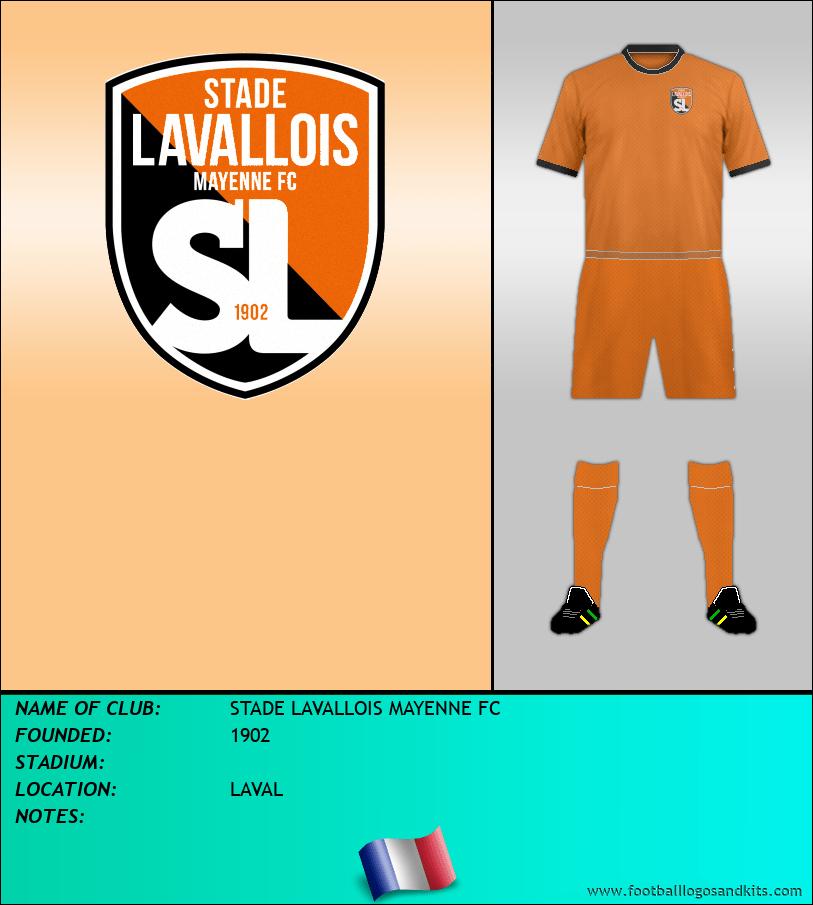 Logo of STADE LAVALLOIS MAYENNE FC