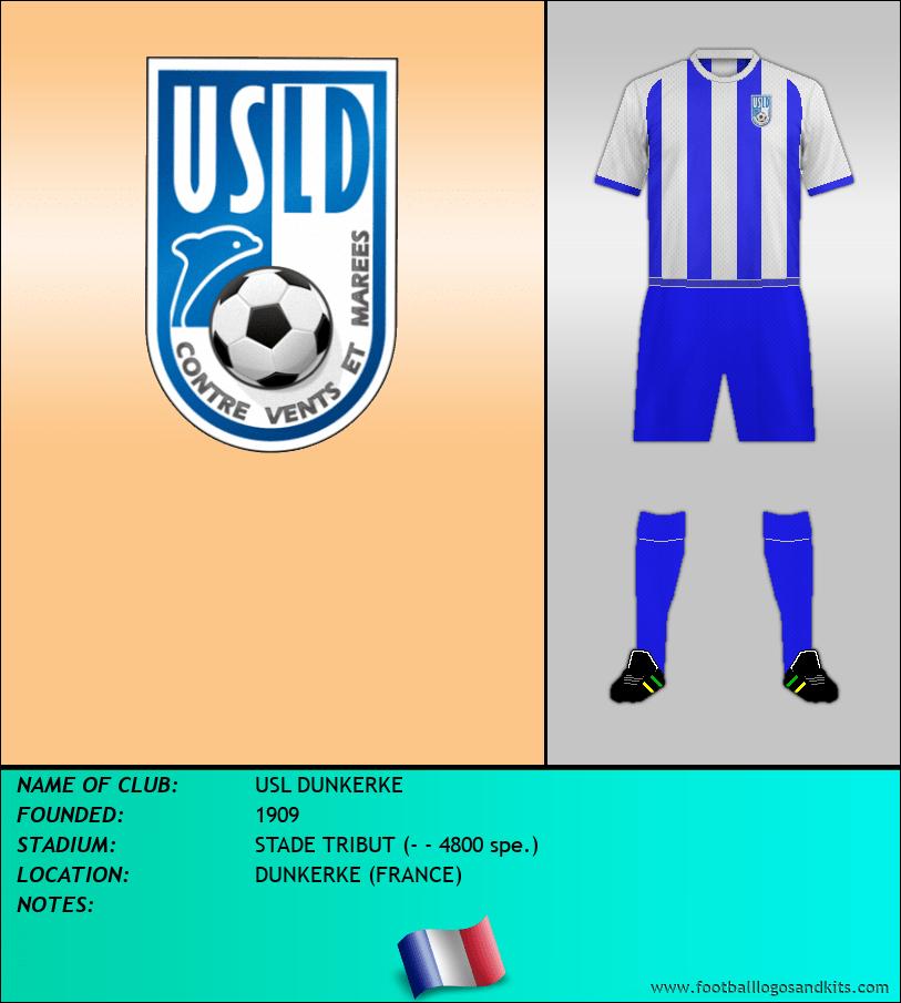 Logo of USL DUNKERKE