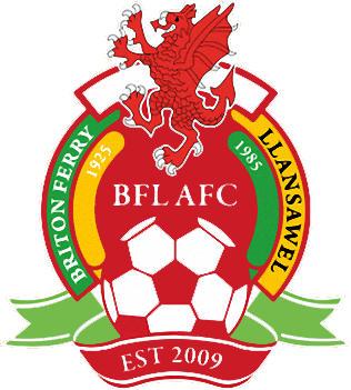 Logo of BRITON FERRY LLANSAWEL AFC (WALES)