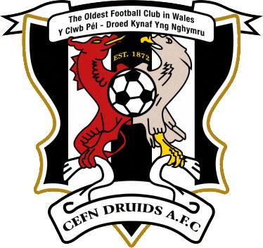 Logo of CEFN DRUIDS AFC (WALES)