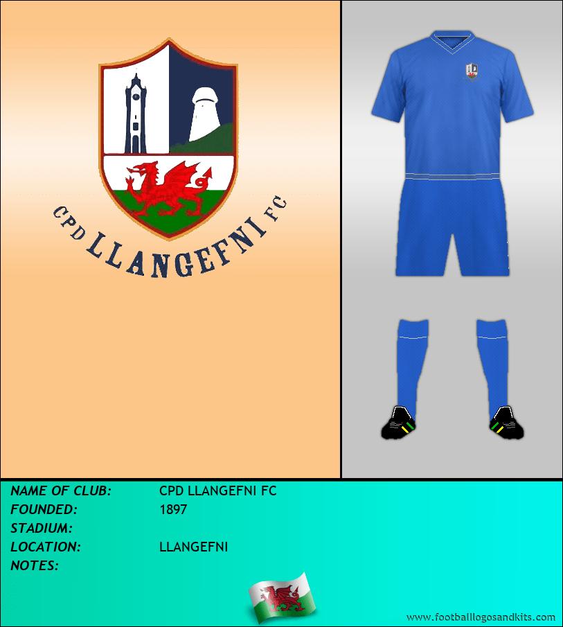 Logo of CPD LLANGEFNI FC