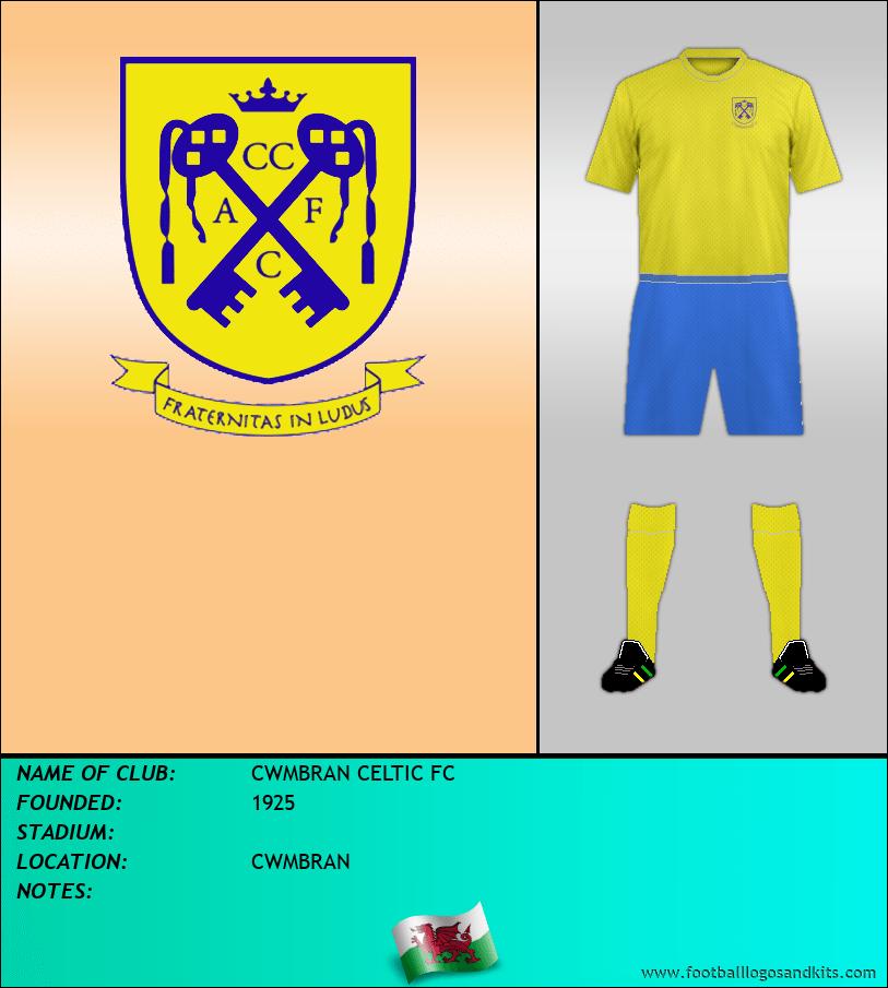 Logo of CWMBRAN CELTIC FC