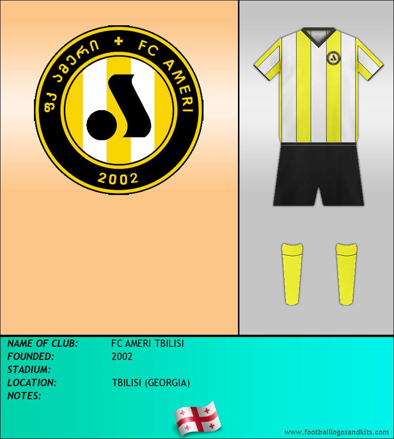 Logo of FC AMERI TBILISI