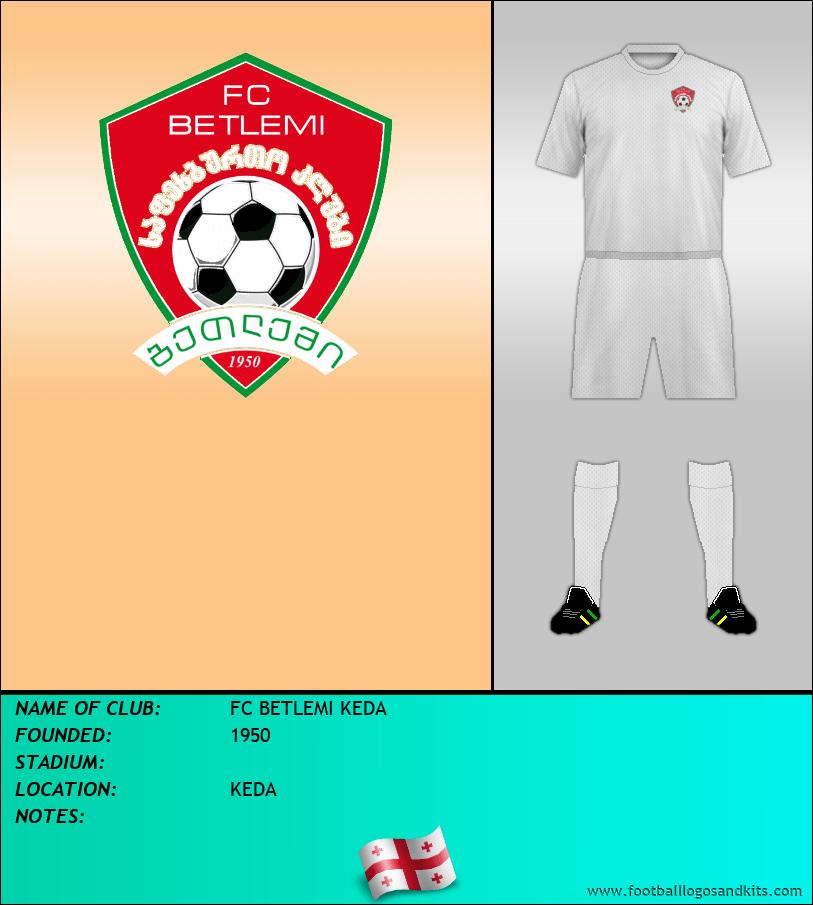 Logo of FC BETLEMI KEDA