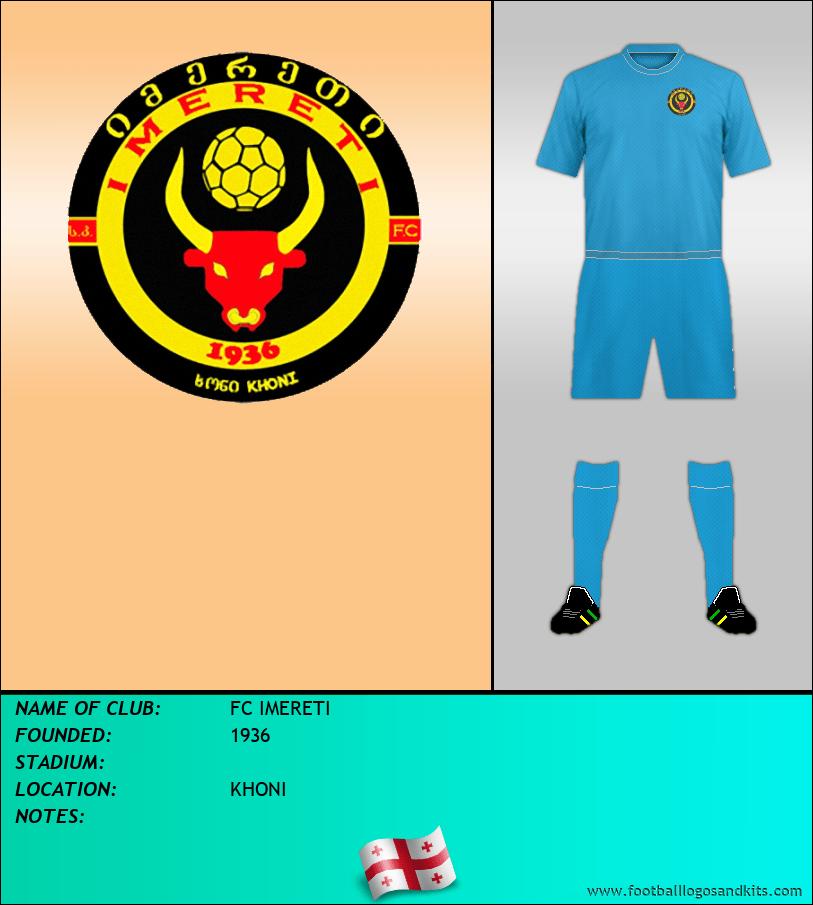 Logo of FC IMERETI