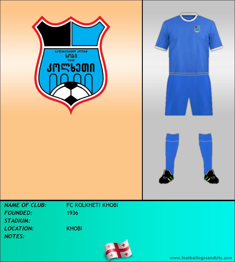 Logo of FC KOLKHETI KHOBI