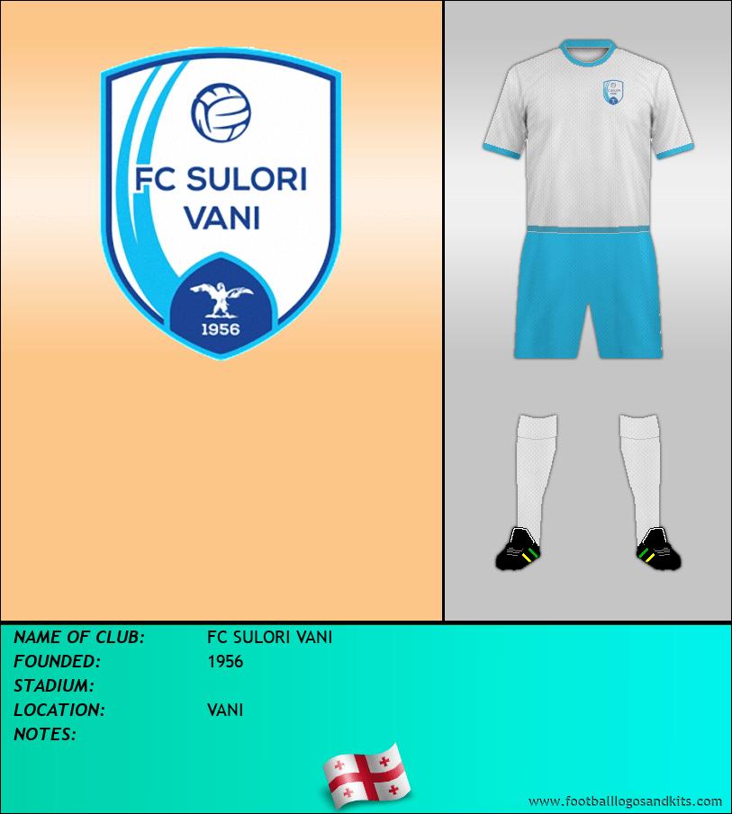 Logo of FC SULORI VANI