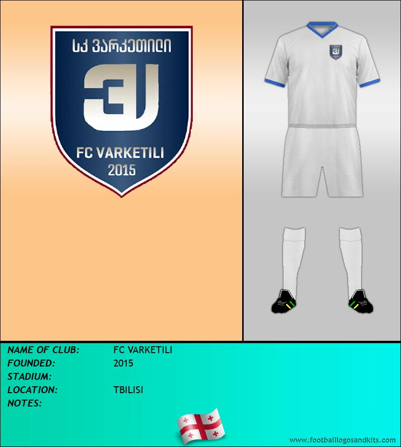 Logo of FC VARKETILI