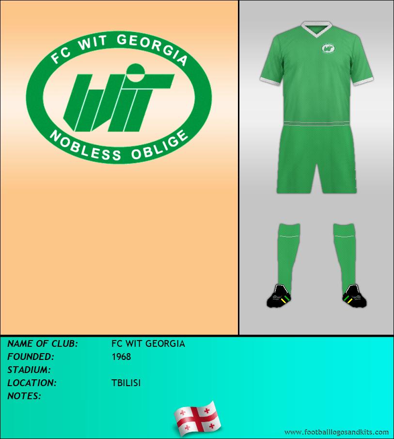 Logo of FC WIT GEORGIA