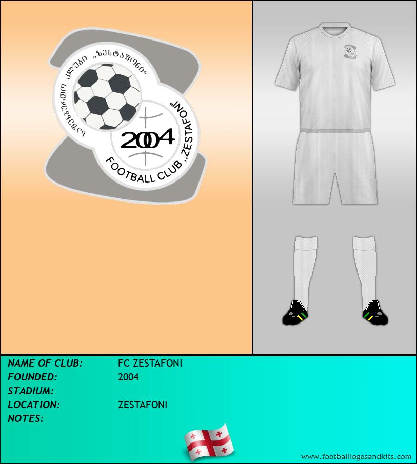 Logo of FC ZESTAFONI