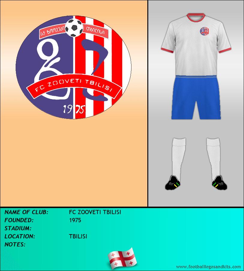 Logo of FC ZOOVETI TBILISI