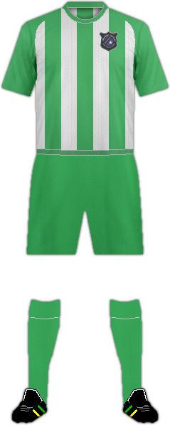 Kit COLLEGE 1975 FC