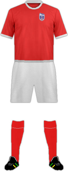 Kit EUROPA POINT FC DESDE 2020