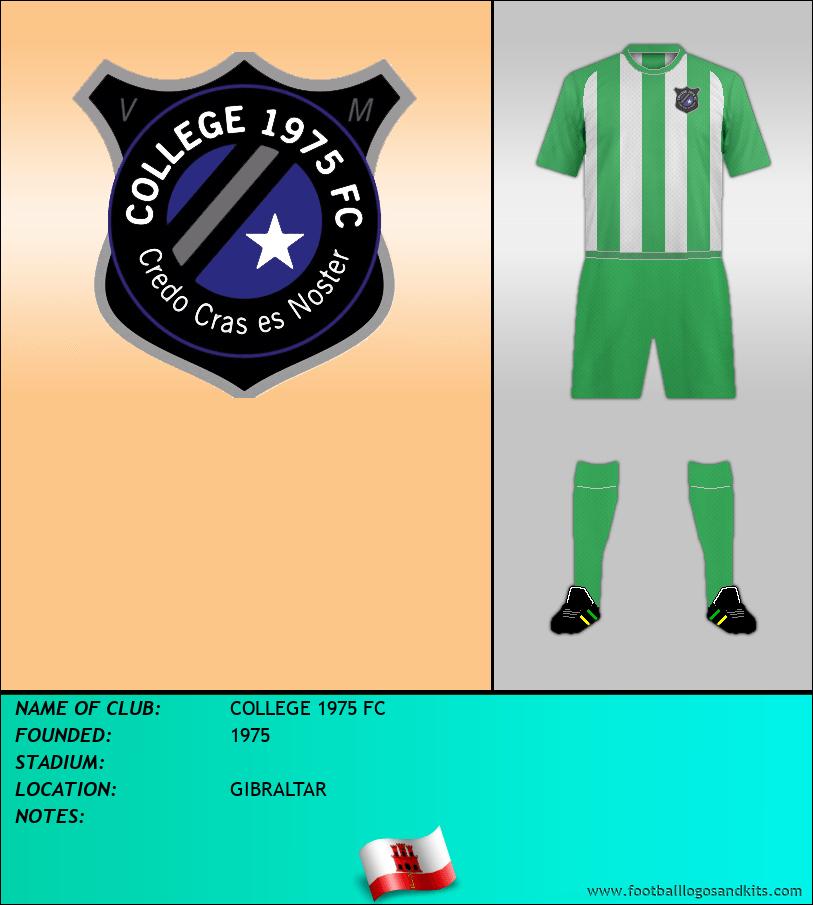 Logo of COLLEGE 1975 FC