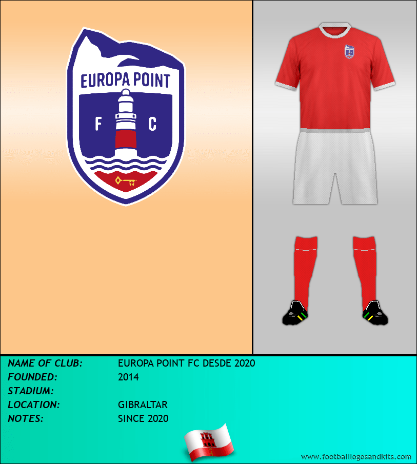 Logo of EUROPA POINT FC DESDE 2020