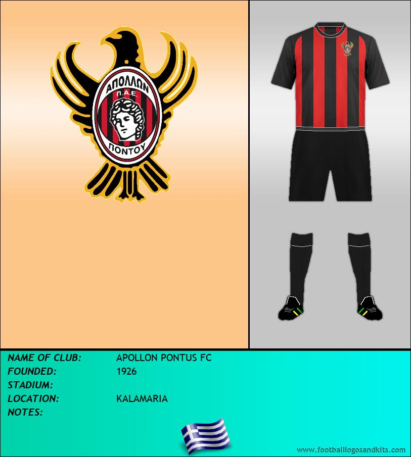 Logo of APOLLON PONTUS FC