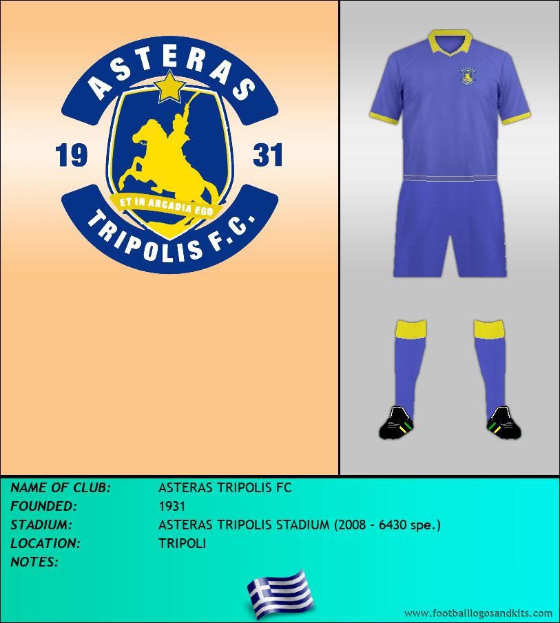 Logo of ASTERAS TRIPOLIS FC