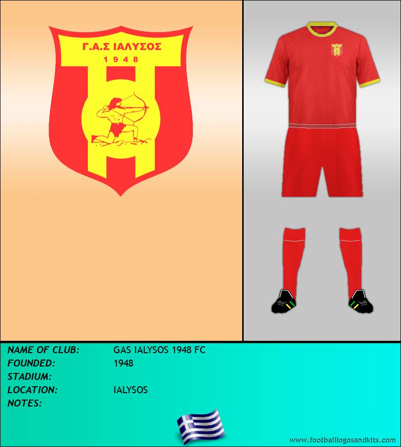 Logo of GAS IALYSOS 1948 FC