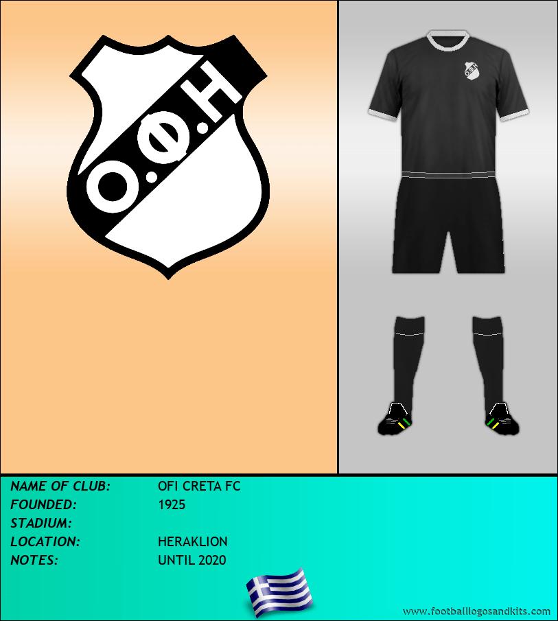 Logo of OFI CRETA FC